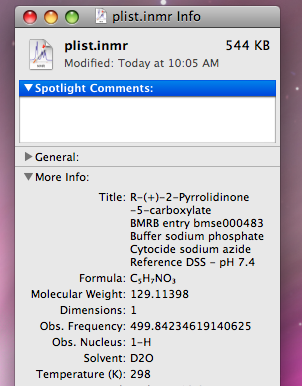 iNMR for Mac and Windows